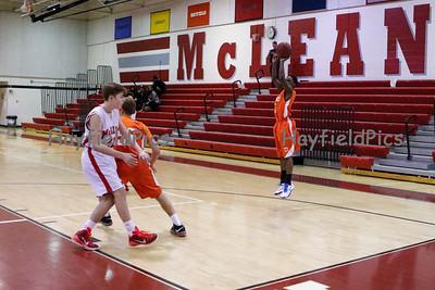 Boys Frosh Basketball v McLean 1/31/15