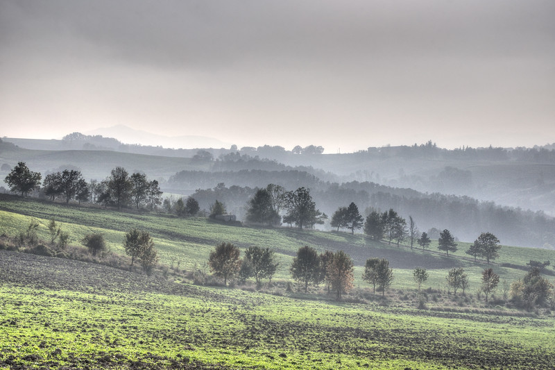 Misty Hills - Viano, Reggio Emilia, Italy - October 22, 2012