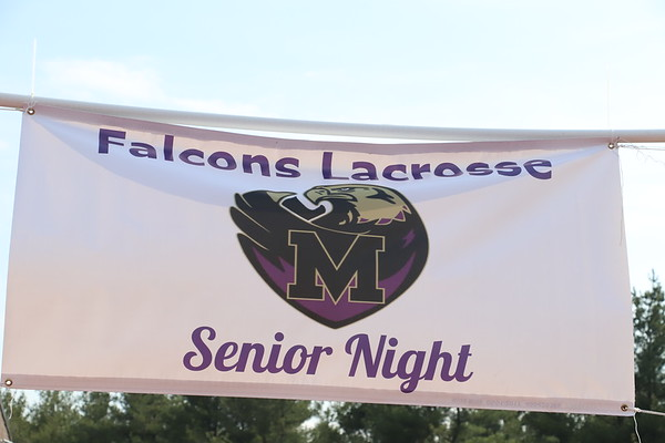 April 30th Boys LAX Sr Night Parent and Player shots, pre-game, Photos by R DeBoer