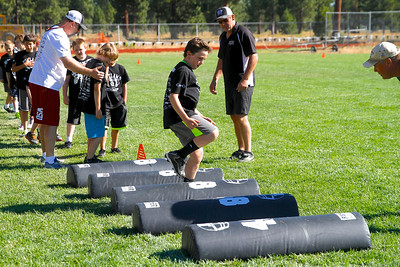 Outlaw Football Camp 4th Day 2014
