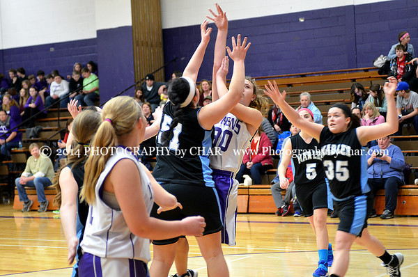 Athens vs Mar Lee 8 Grade Girls Basketball Game