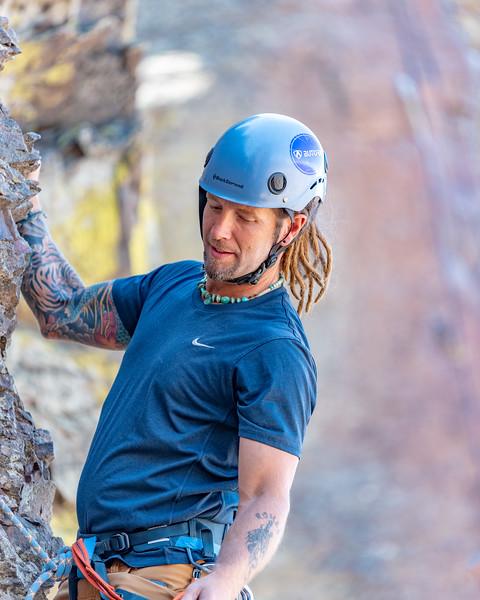 Rock Climbing Instructor, August 2018