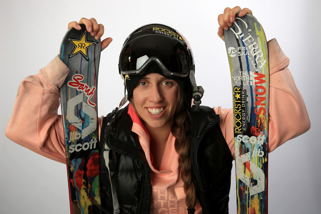 . Freeskier Maddie Bowman poses for a portrait during the USOC Media Summit ahead of the Sochi 2014 Winter Olympics on October 1, 2013 in Park City, Utah.  (Photo by Doug Pensinger/Getty Images)