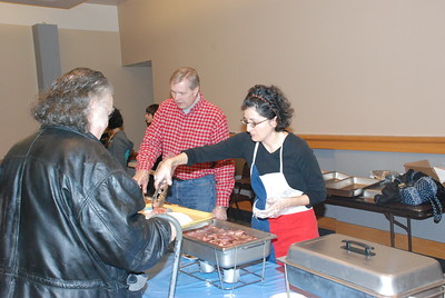 Community Life - Homeless Lunch - November 22, 2008