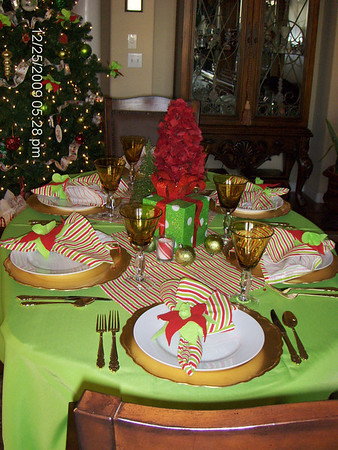 Christmas Dinner at Ron & Lori's Dec. 25, 2009