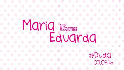 Maria Eduarda 03-09-16