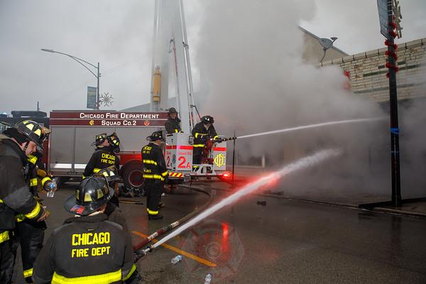 2-11 Alarm Fire 7051 N Clark Street December 2018