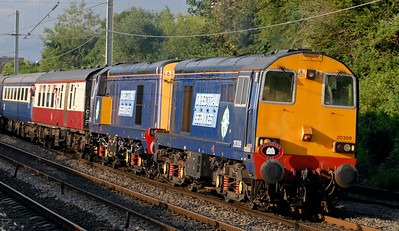 Diesel and electric specials, 2012