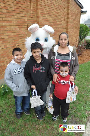 Easter Bunny ~ Griffin Early Childhood center