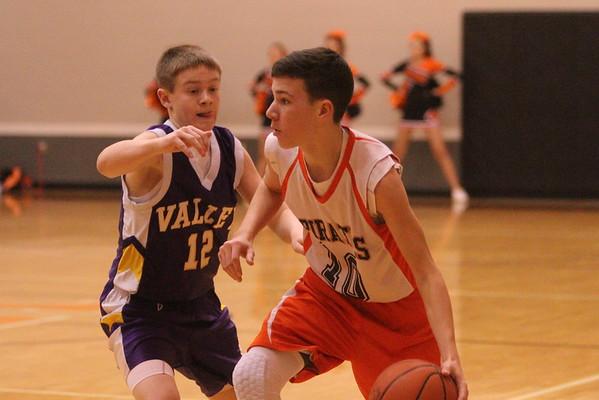 17JH8 Junior High:  Valley 8th at Wheelersburg 8th grade 2015