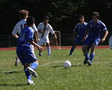 Varsity  Soccer  V. Tourtellotte, 9/20/08 (T 3-3)
