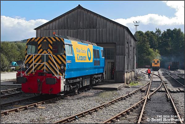Industrial Locomotives: Hope Cement Works