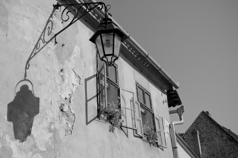 The house of Vlad Dracul in Sighisoara, Romania