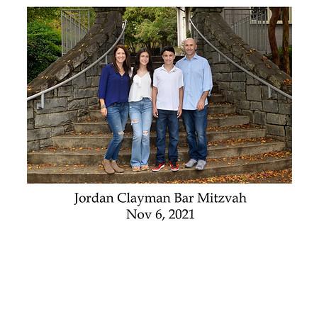 Jordan Clayman sign in book