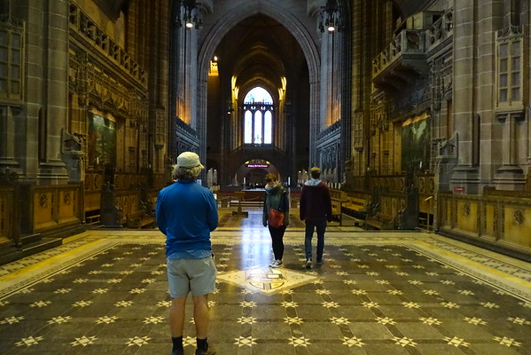 Liverpool Cathedrals & St. Lukes