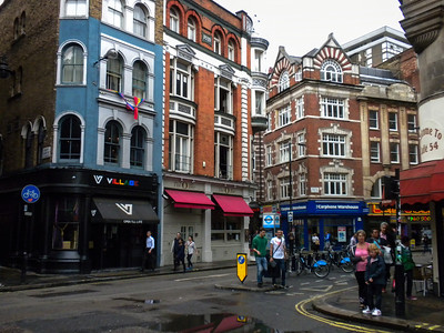Covent Garden and Soho