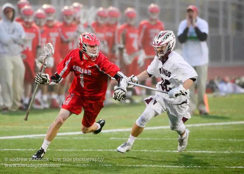 Conard vs. East Lyme - May 7, 2016