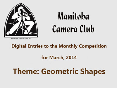 Digital Entries for March 2014 (Geometric Shapes)