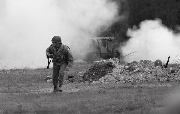 World War II Reinactment and observers-'07