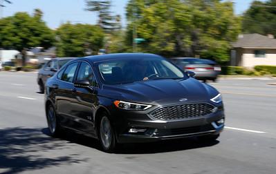 2017 Ford Fusion Energi plug-in hybrid Platinum model