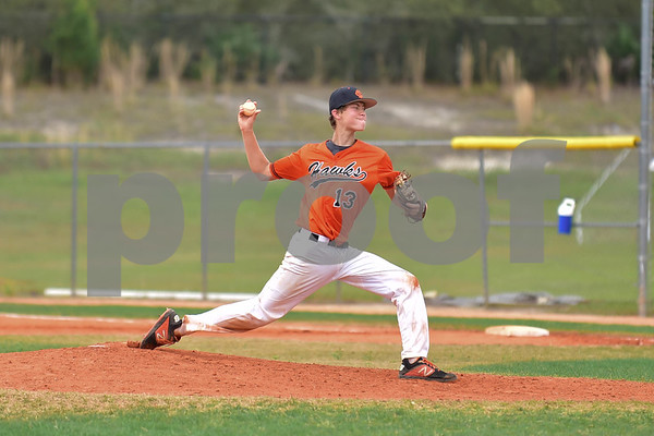 JV Boys Baseball 3-16-19