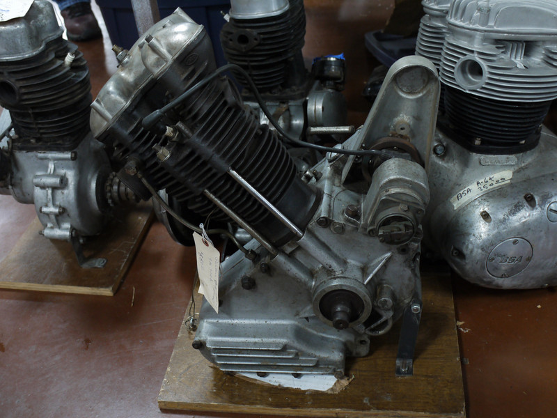 Panther Model 120 engine, $650.