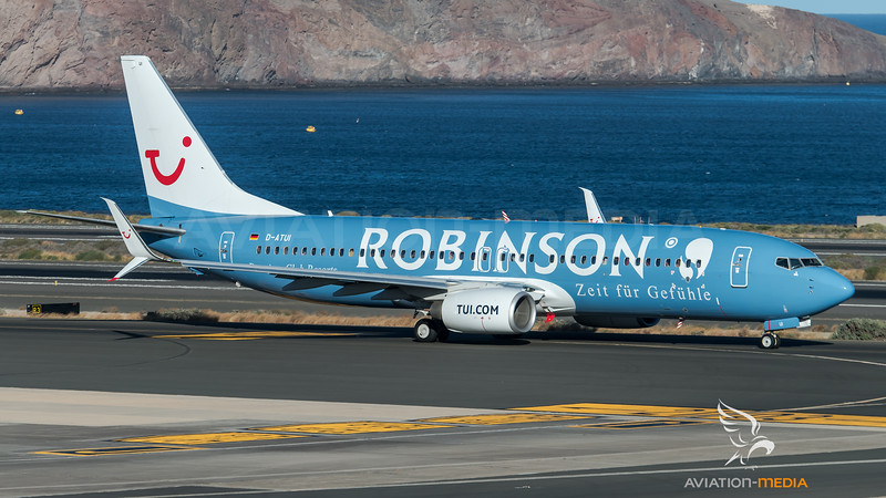 Tuifly / Boeing B737-8K5 / D-ATUI / Robinson Livery