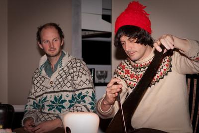 The Music Tapes Caroling Tour Visits Manalapan, NJ