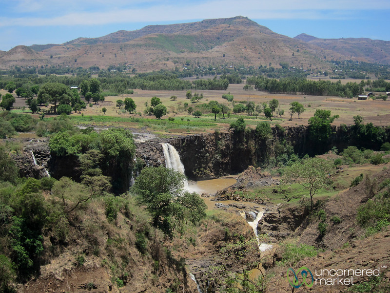 Blue Nile Falls, View from Above - Bahir Dar, Ethiopia