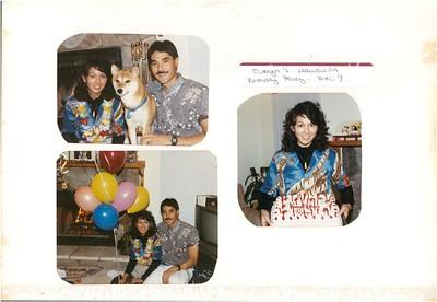 12-9-1989 Robyn Kam Hawaiian Birthday