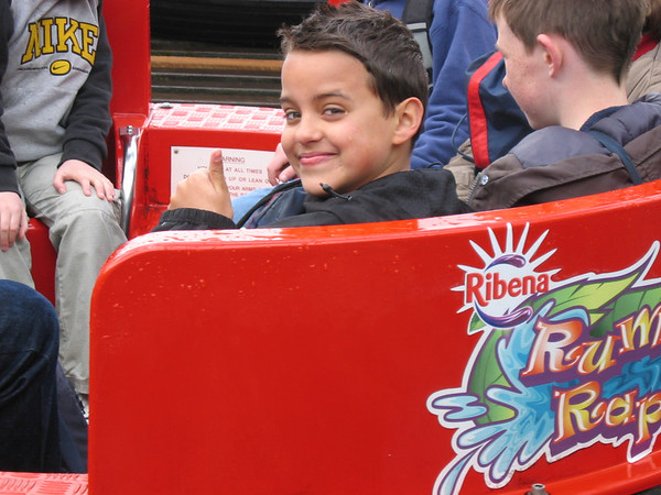 Scout Thorpe Park trip