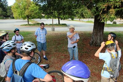2014-08-30 Scout Bike ride-Coyote Creek