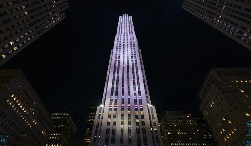 Rockefeller Center - New York, NY, USA - August 21, 2015