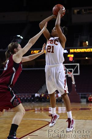 USC Women's Basketball v WSU 2-18-2010