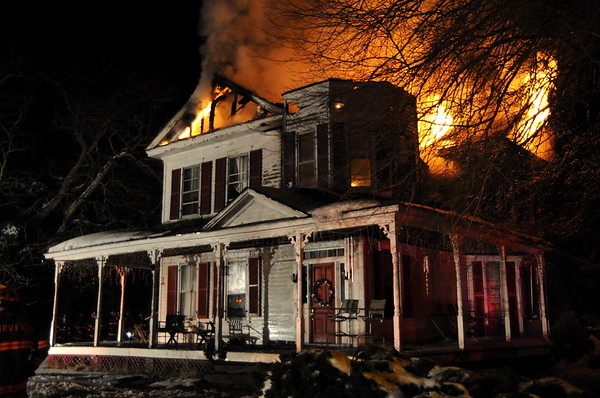 2/9/2010 Working House Fire - Park Hall
