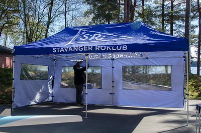 Ny henger og nye telt
