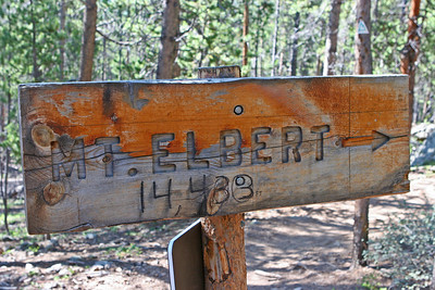 2012 San Isabel National Forest: Mt. Elbert
