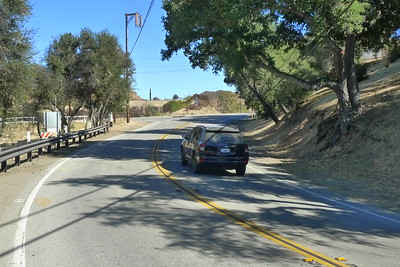 Mulholland Hwy Near the Rock Store