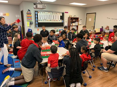 Kinder with HS - Operation Christmas Child