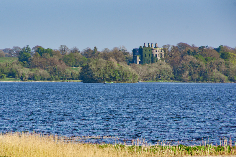 View over Lough Ennell to Belvedere House, from Ladestown