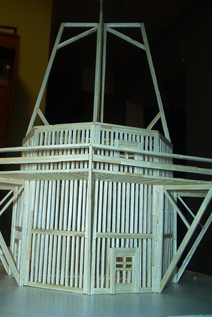 Matchstick Windmill, March 2003