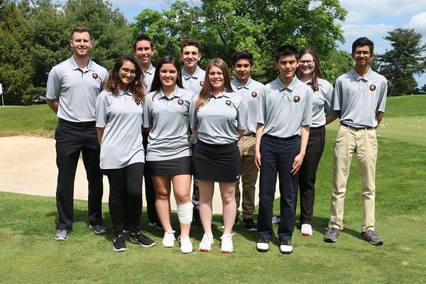 May 8, 2019 MTHS Golf JV Squad Photos