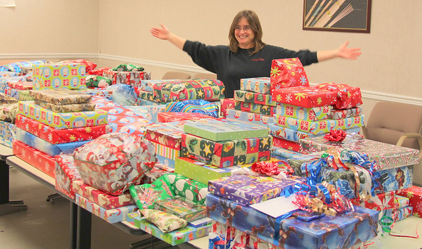 2013,  Christmas donations from Sam Dong in Rogersville
