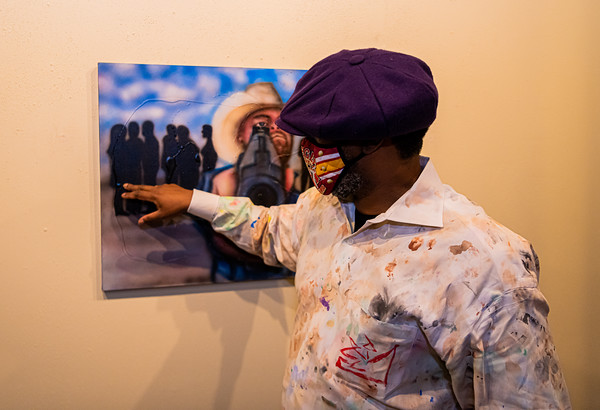 Rodney Butler Art Exhibit, 9th Street Studios, Wichita Falls, TX, 1/30/2021