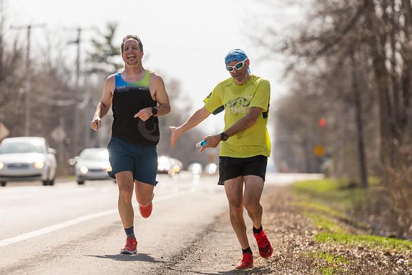 Eric Deshaies - 10 marathons, jour 8
