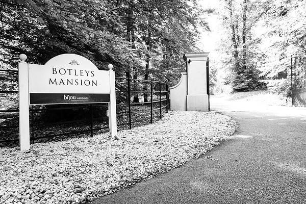 Emily & Phil Wedding - Botleys Mansion