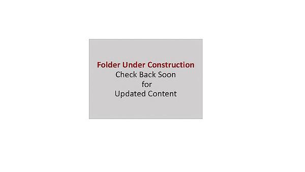 Folder Under Construction