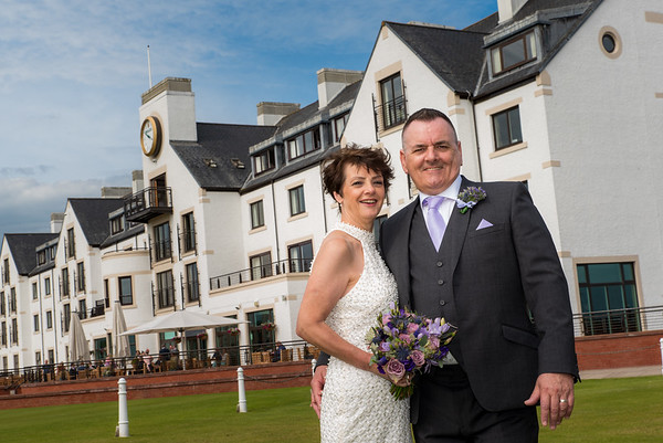 Alison and Jeff - Carnoustie Golf Hotel