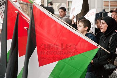 Pro-Gaza Rally, 2009-01-17