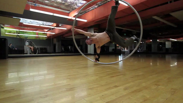 Cyr wheel Demo